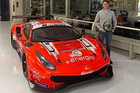 Daniele Di Amato sulla Ferrari nel GT Italiano e Open