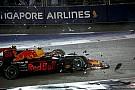 Verstappen culpa a Vettel del accidente de la salida