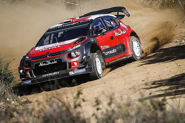 WRC Новость Леб протестировал Citroen C3 WRC на гравии