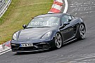 Automotive Porsche 718 Cayman GTS spied undisguised on Nürburgring