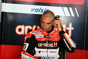 """WSBK Intervista Ducati, Marco Melandri: """"Togliere la gomma ci ha messo in crisi"""