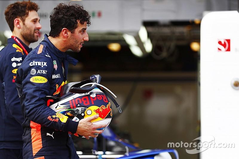 Le cauchemar de Ricciardo devant son public