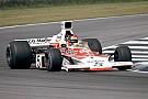 Mika Häkkinen mit F1-Demorunden im McLaren M23 von Emerson Fittipaldi