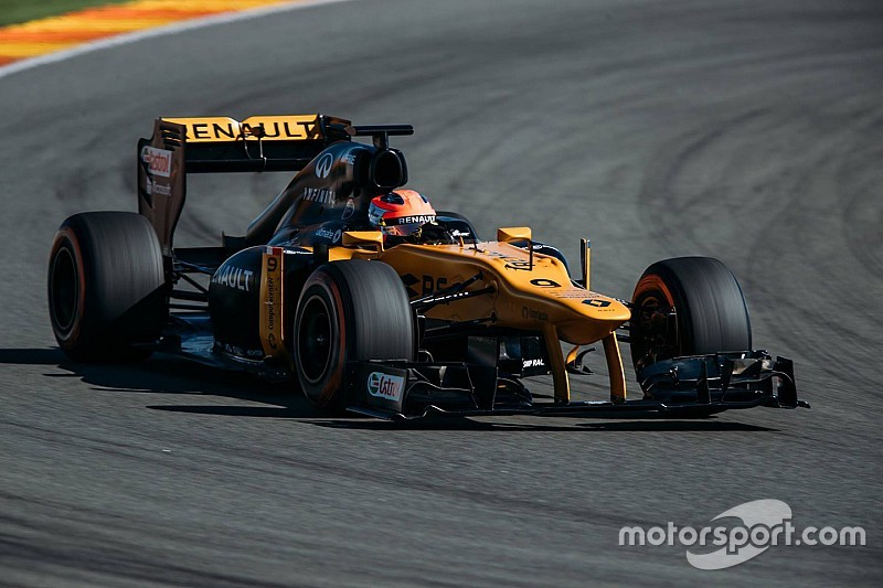 Kubica completes F1 test with Renault at Valencia