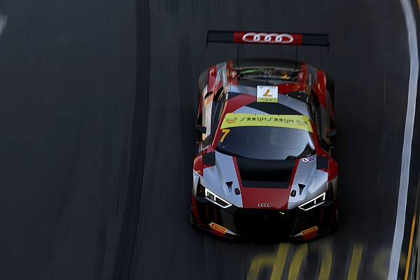 GT GT World Cup: Mortara leads Audi 1-2 in qualifying
