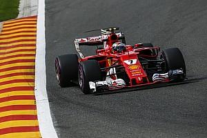 Formula 1 Practice report Belgian GP: Raikkonen leads Ferrari 1-2 in FP3