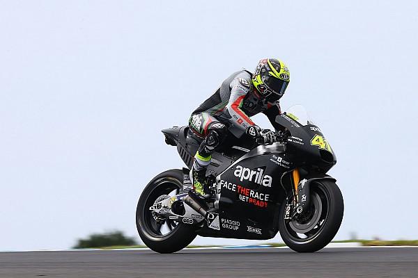 MotoGP Espargaro says Aprilia gives him more confidence than Suzuki