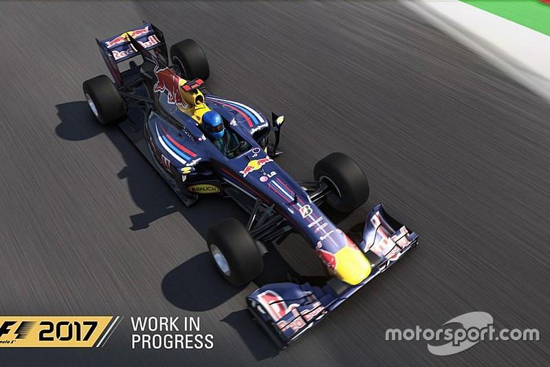 Видео: Ферстаппен впервые проехался в игре F1 2017