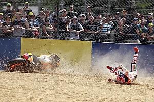 MotoGP Важливі новини Маркес не відчував себе «впевнено» перед аварією у Ле-Мані