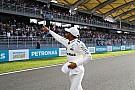 Dia de sonho para Hamilton; o sábado na Malásia