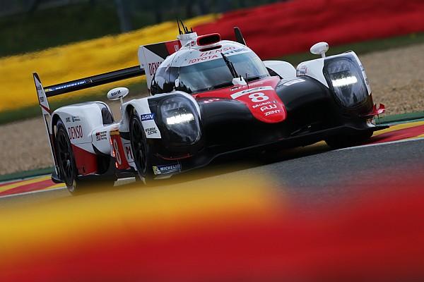 WEC 2017 in Spa: Toyota dominiert Training – wie erwartet