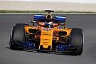 McLaren pilotları ilk günden mutlu ayrıldı