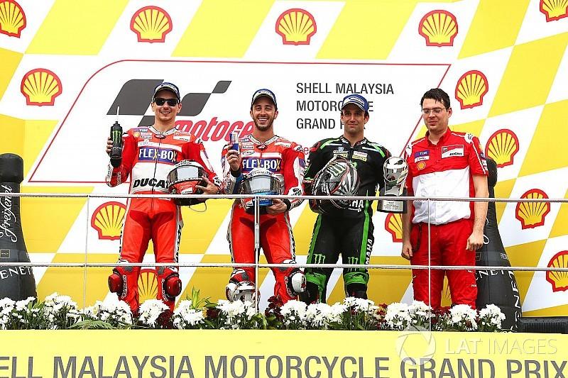 Malezya MotoGP: Dovizioso kazandı, şampiyonluk son yarışa kaldı!