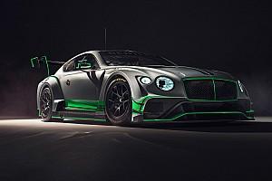 GT Actualités Bentley présente sa nouvelle Continental GT3