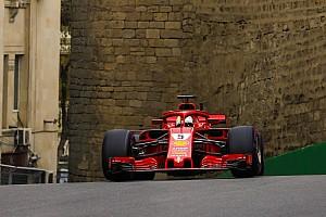Fórmula 1 Entrevista Para Vettel, Ferrari vai bem em Baku, mas ele não