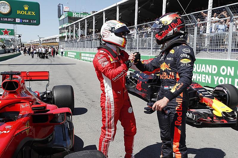 Vettel, Red Bull'un start için hiper yumuşak lastik seçmesine şaşırmış