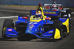 IndyCar Practice report St. Pete IndyCar: Rossi tops morning warm-up