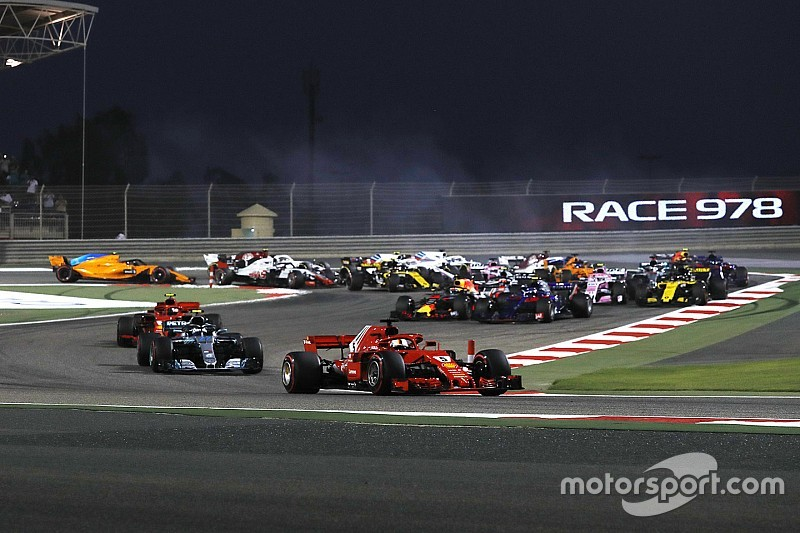 فيتيل يصدّ هجمات بوتاس ليُحقّق الفوز في سباق البحرين 2018