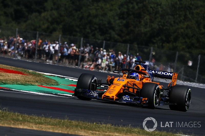 Alonso: Silverstone qualifying