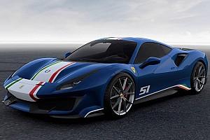 Auto Actualités Découvrez les 4 versions de la Ferrari 488 Pista Piloti Ferrari
