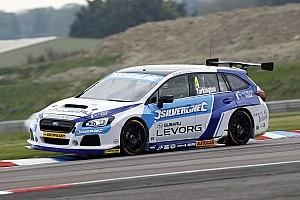 BTCC Qualifying report Oulton Park BTCC: Turkington takes Subaru's first pole