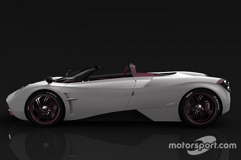 帕加尼Huayra Roadster曝光 8月发布