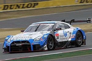 Super GT Testing report Nissan tops opening Fuji Super GT test day by 0.018s