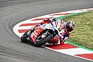 MotoGP Grosse chute pour Petrucci au test de Barcelone