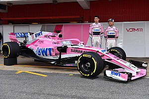 Formel 1 News Formel 1 2018: Force India zeigt den VJM11 für die Formel 1 2018