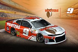 NASCAR Cup Noticias de última hora Hooters revela el diseño del auto de Chase Elliott para 2018