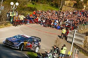 WRC Resumen de la etapa Ogier manda en casa después del primer día