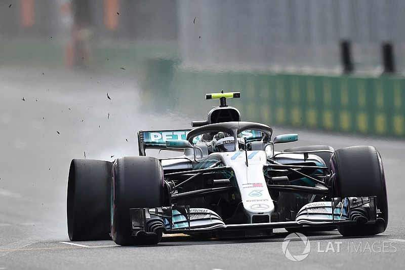 Bottas didn't see debris that cost him Baku win