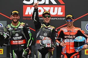World Superbike Crónica de Carrera Rea y Sykes firman un cómodo doblete de Kawasaki en Imola