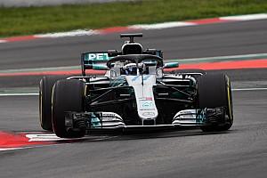 Fórmula 1 Crónica de test Bottas terminó al frente el test de la F1 en Barcelona