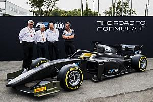 """FIA F2 突发新闻 F2发布""""光环""""版2018年赛车"""