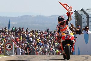 MotoGP Últimas notícias Márquez apostou mais do que tinha em Aragón