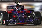 Sainz és a Toro Rosso csapatrádiója: