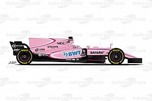 Formule 1 Preview Guide F1 2017 - Force India veut voir la vie en rose