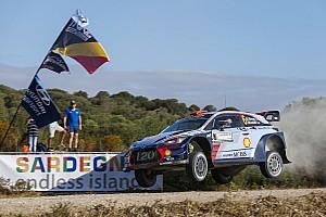 WRC Отчет о тренировке Сордо установил лучшее время на шейкдауне Ралли Италия