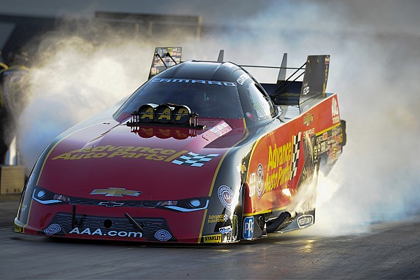 "Courtney Force hails ""great test"" after fastest Funny Car run"