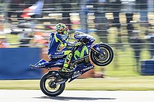 """MotoGP Noticias de última hora Rossi: """"Hoy Miller tuvo mucha suerte"""""""