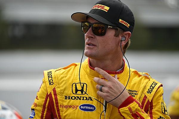 IndyCar Хантера-Рея допустили до гонки після перевантажень у 139G