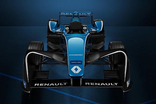Renault apresenta carro para temporada 2017-18 da F-E