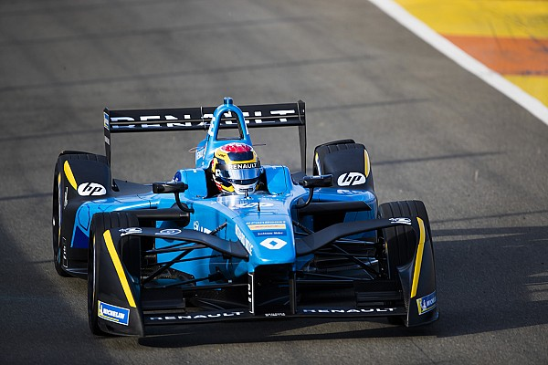 Formula E Valencia Formula E test: Buemi sweeps second day