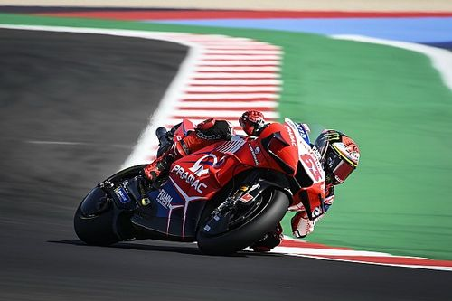 Bagnaia n'a plus peur d'affronter Rossi