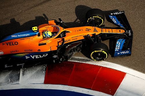 نوريس سيستعمل الأنف الجديد لسيارة مكلارين في سباق سوتشي