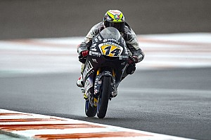 Moto3 Valencia: Arbolino gokt en pakt dominante pole-position