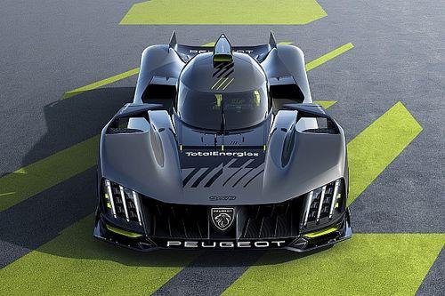 Peugeot presenta las primeras imágenes de su Hypercar 9X8 para Le Mans