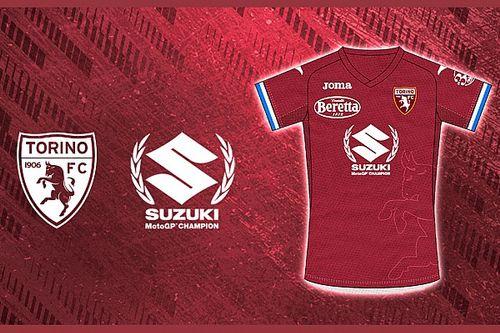 El Torino homenajea el mundial de Mir y Suzuki en su camiseta
