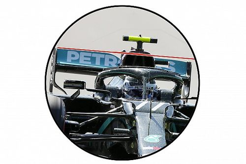 Un 'truco' que Mercedes guarda en su alerón, al descubierto